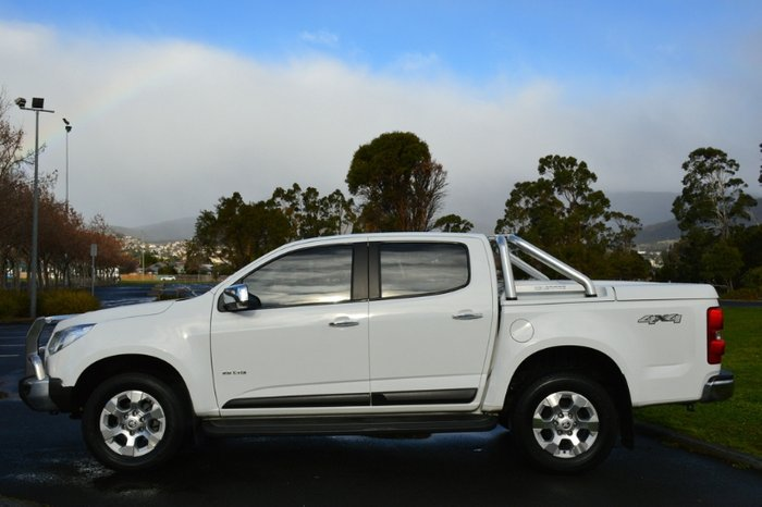 2014 Holden Colorado LTZ RG MY14 4X4 Dual Range WHITE