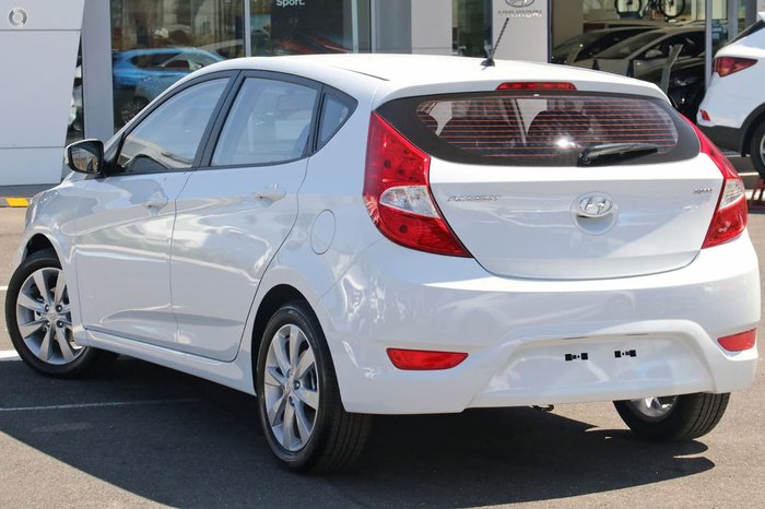 2019 Hyundai Accent Sport RB6 MY18 White