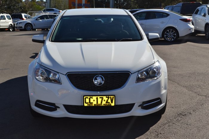 2015 Holden Commodore Evoke VF MY15 White