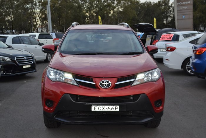 2013 Toyota RAV4 GX ASA44R 4X4 On Demand Red