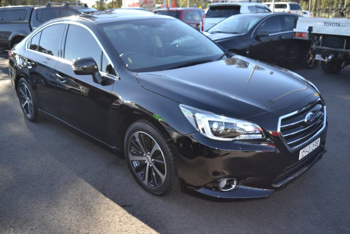 2016 Subaru Liberty 2.5i Premium 6GEN MY16 Four Wheel Drive Black