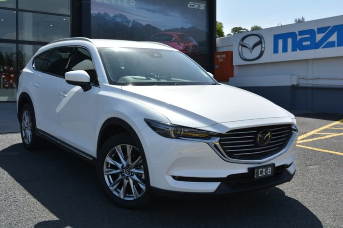 2018 Mazda CX-8 Asaki KG Series 4X4 On Demand White