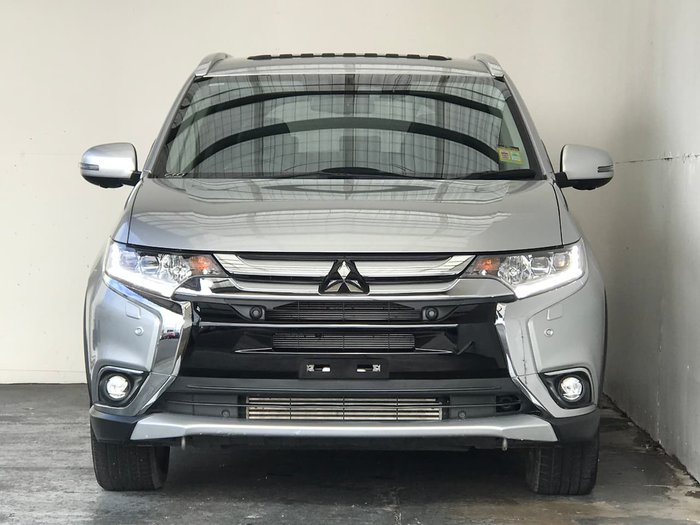 2017 Mitsubishi Outlander Exceed ZL MY18.5 4X4 On Demand Silver
