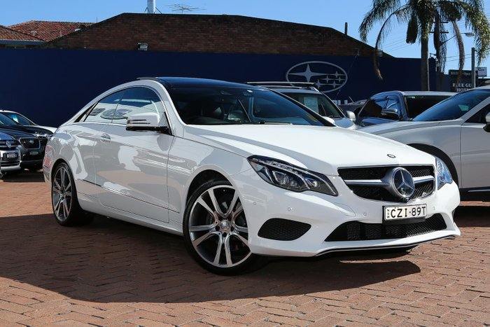 2014 Mercedes-Benz E250 C207 MY15 White