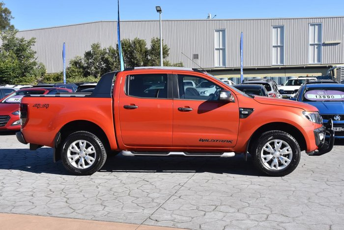 2014 Ford Ranger Wildtrak PX 4X4 Dual Range Orange