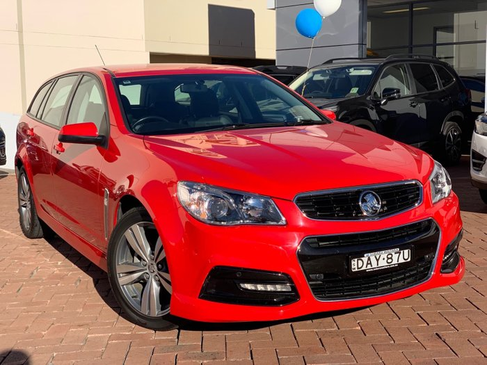 2014 Holden Commodore SV6 VF MY14 Red