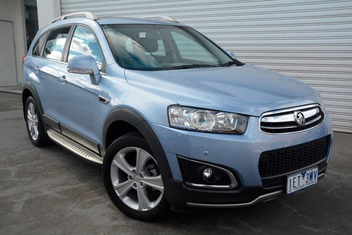 2015 Holden Captiva 7 LTZ CG MY15 4X4 On Demand Blue