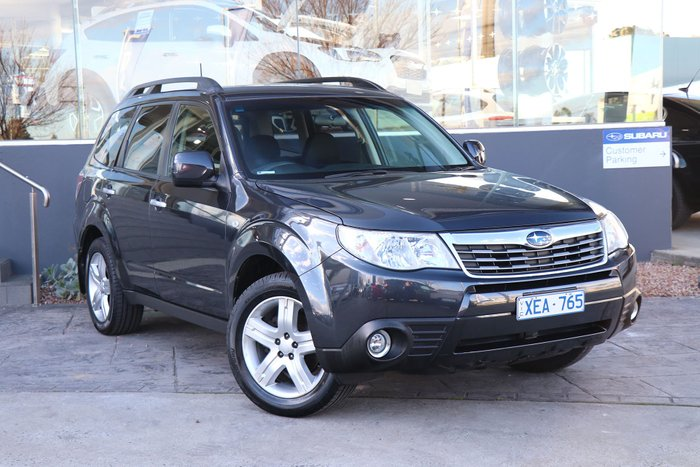 2009 Subaru Forester XS S3 MY10 Four Wheel Drive Grey