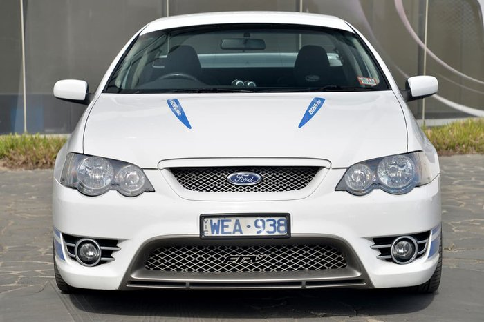 2007 Ford Performance Vehicles Super Pursuit BF Mk II White