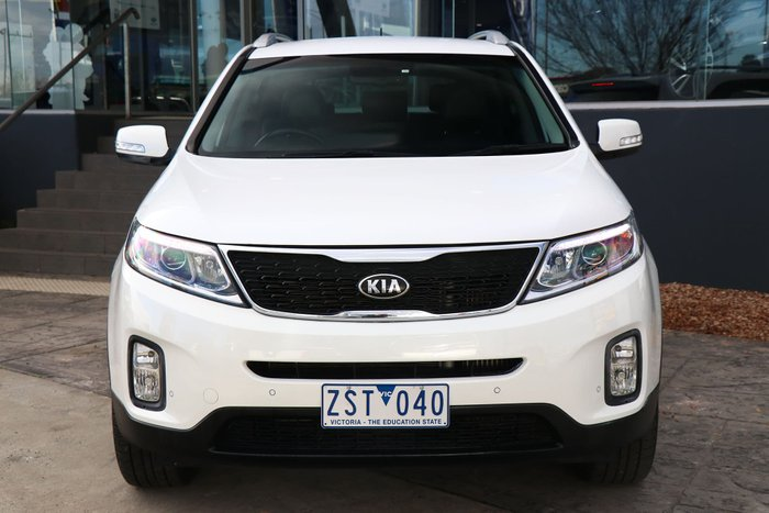 2013 Kia Sorento SLi XM MY13 4X4 On Demand White