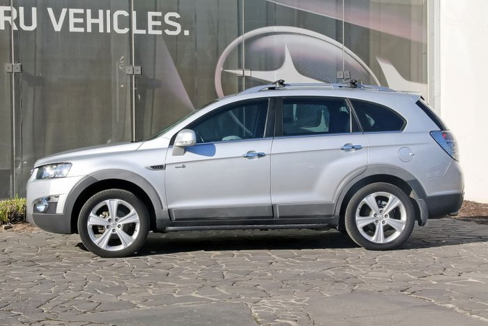 2012 Holden Captiva 7 LX CG Series II 4X4 On Demand Silver