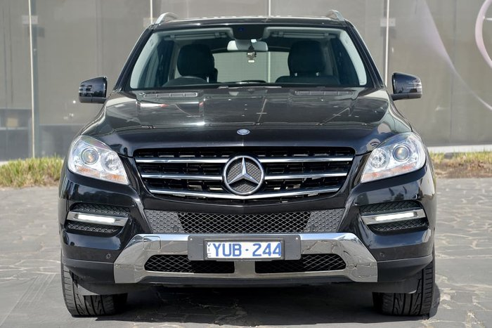 2012 Mercedes-Benz M-Class ML250 BlueTEC W166 4X4 Constant Black