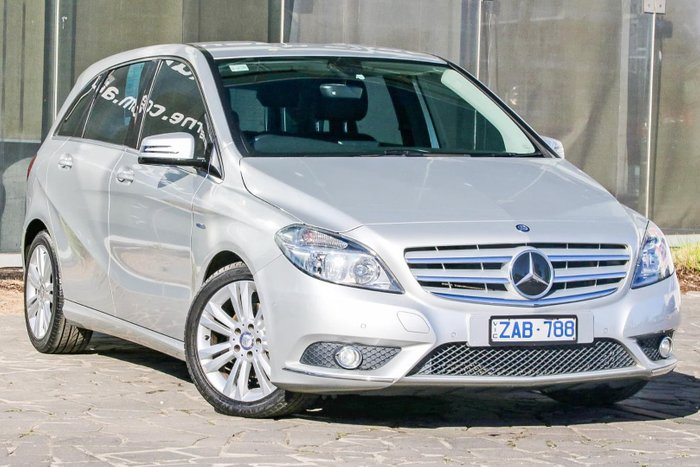 2012 Mercedes-Benz B-Class B200 CDI BlueEFFICIENCY W246 Silver