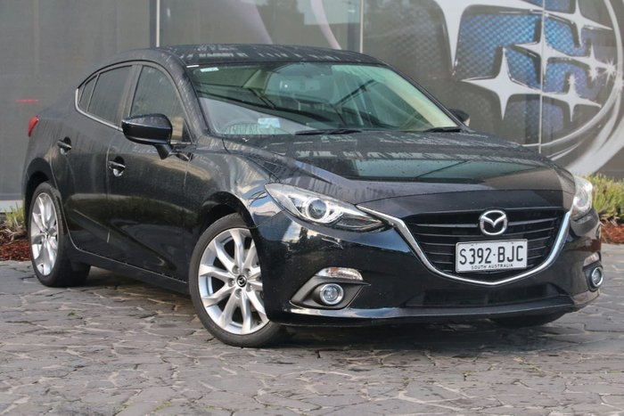 2015 Mazda 3 SP25 GT BM Series Black
