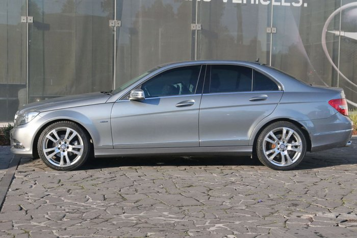 2011 Mercedes-Benz C-Class C250 CDI BlueEFFICIENCY Avantgarde W204 MY11 Silver