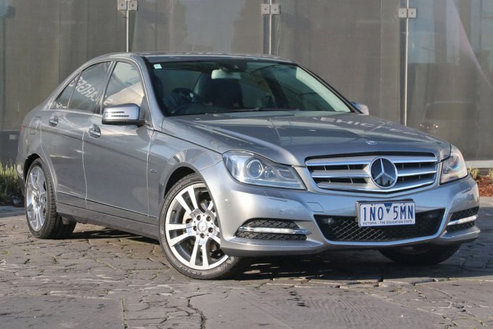 2011 Mercedes-Benz C250 CDI BlueEFFICIENCY Avantgarde W204 MY11 Silver