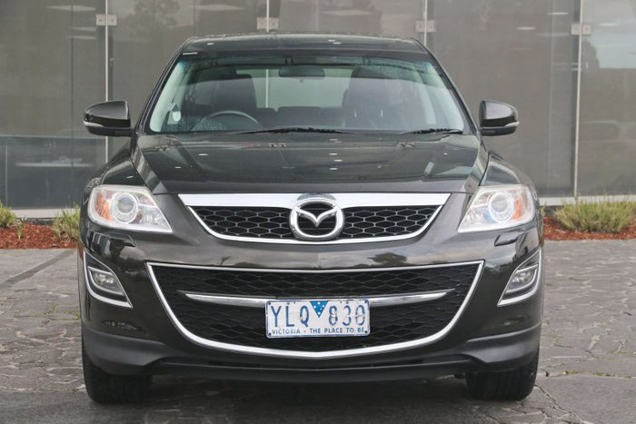 2011 Mazda CX-9 Grand Touring TB Series 4 MY11 Four Wheel Drive Black