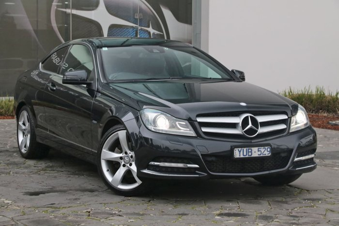 2012 Mercedes-Benz C250 BlueEFFICIENCY C204 Grey