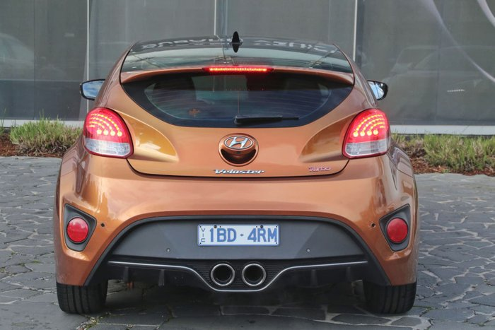 2012 Hyundai Veloster SR Turbo FS2 Orange
