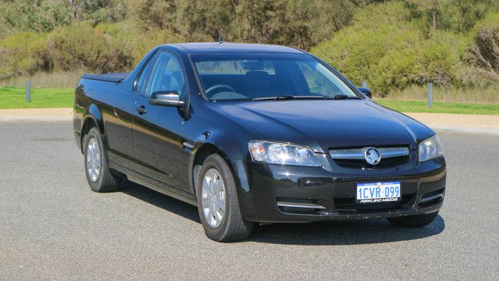 2008 Holden Ute Omega VE Black