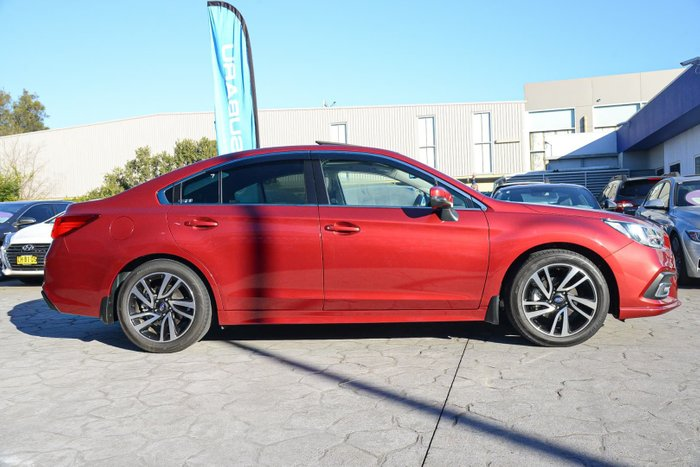 2018 Subaru Liberty 2.5i Premium 6GEN MY18 Four Wheel Drive Red