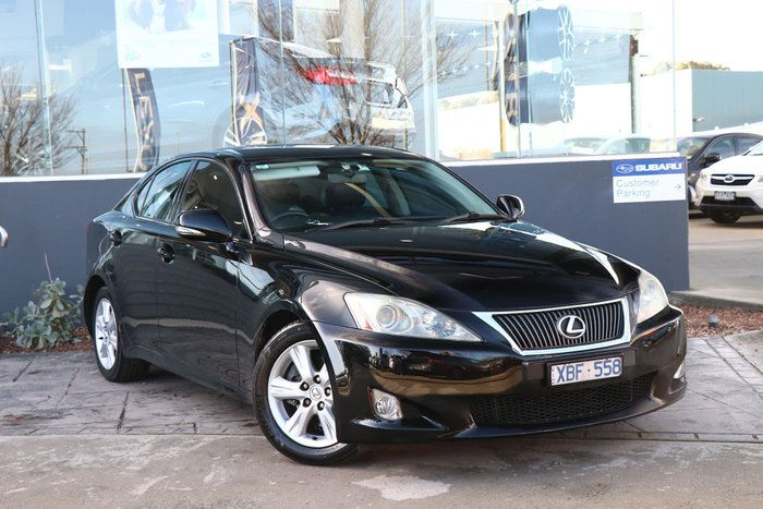 2009 Lexus IS250 Prestige GSE20R MY09 Black