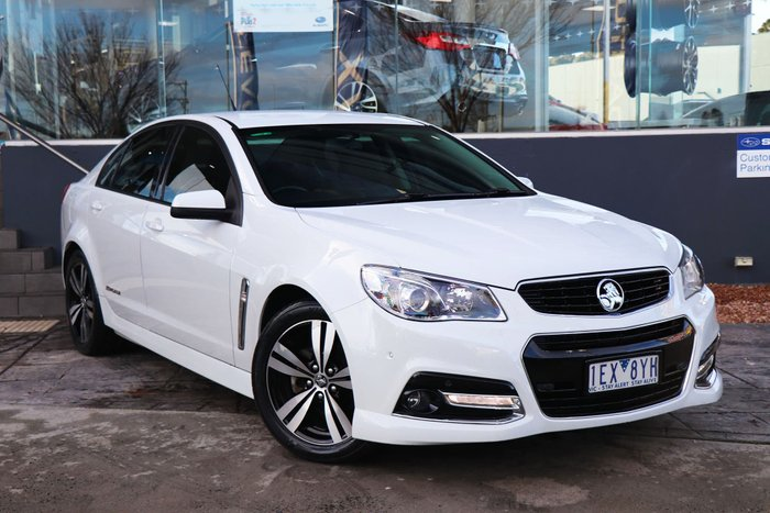 2015 Holden Commodore SV6 Storm VF MY15 White
