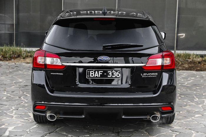 2018 Subaru Levorg 1.6 GT Premium V1 MY18 Four Wheel Drive Black