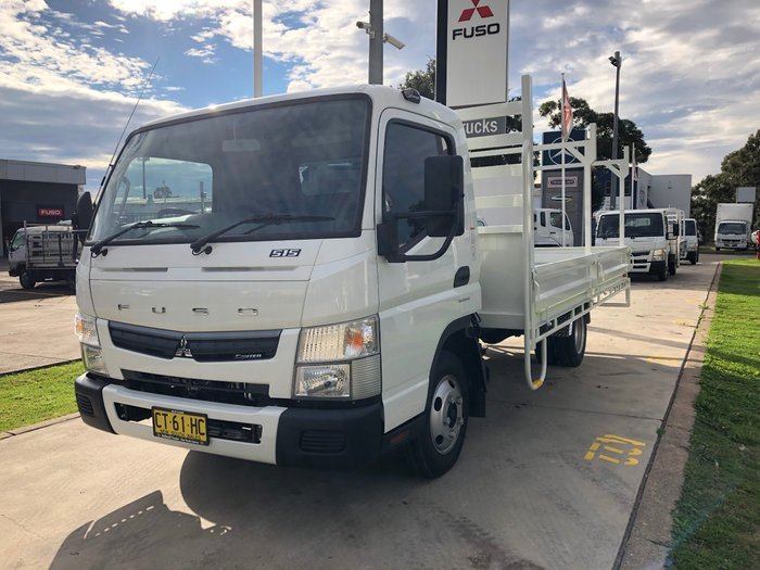 2019 Fuso Canter 515 Wide FEB21ER3SFAN White