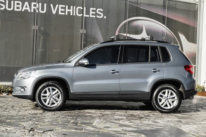 2009 Volkswagen Tiguan 125TSI 5N MY09 Four Wheel Drive Grey