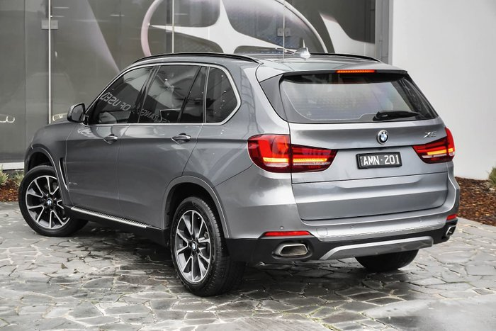 2015 BMW X5 xDrive40d F15 4X4 Constant Silver