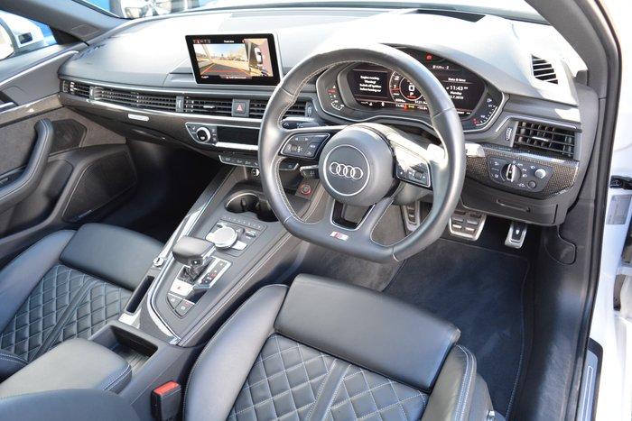 2017 Audi S4 B9 MY17 Four Wheel Drive White