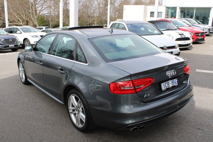 2014 Audi A4 B8 MY14 Four Wheel Drive Grey
