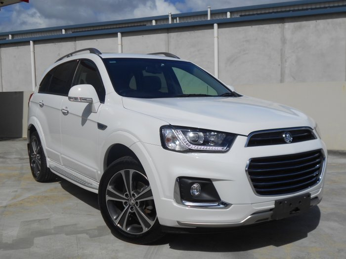 2017 Holden Captiva LTZ CG MY18 4X4 On Demand WHITE