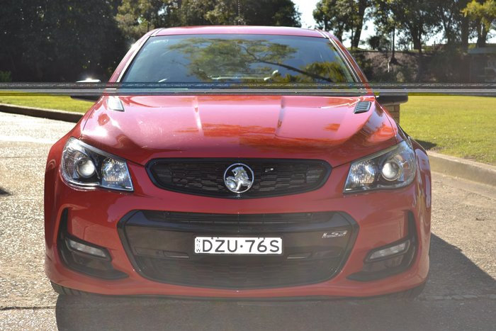 2016 Holden Commodore SS Black VF Series II MY16 Red