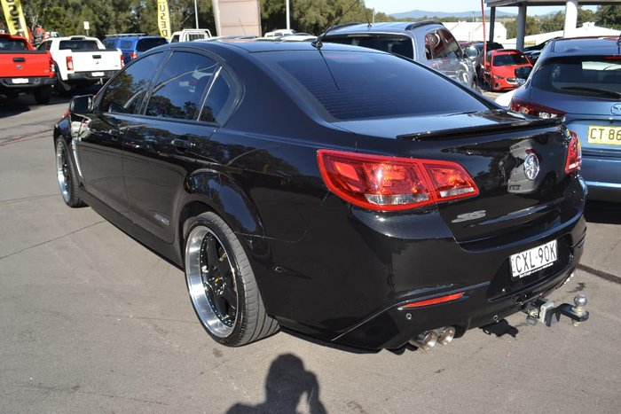 2014 Holden Commodore SS VF MY15 Black