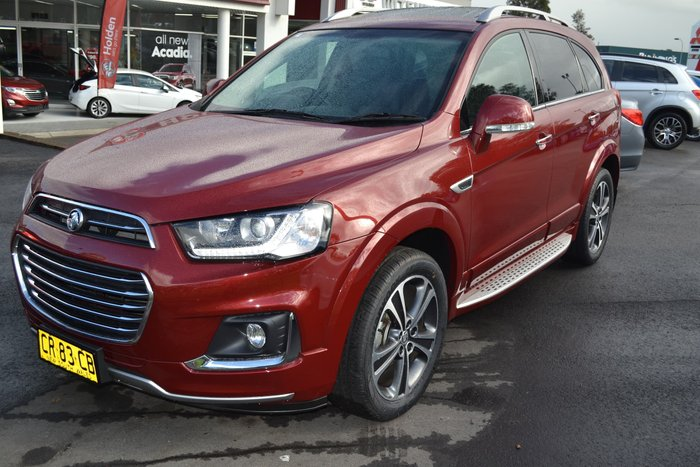 2017 Holden Captiva LTZ CG MY18 4X4 On Demand Red