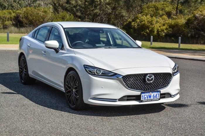 2019 Mazda 6 Touring GL Series White