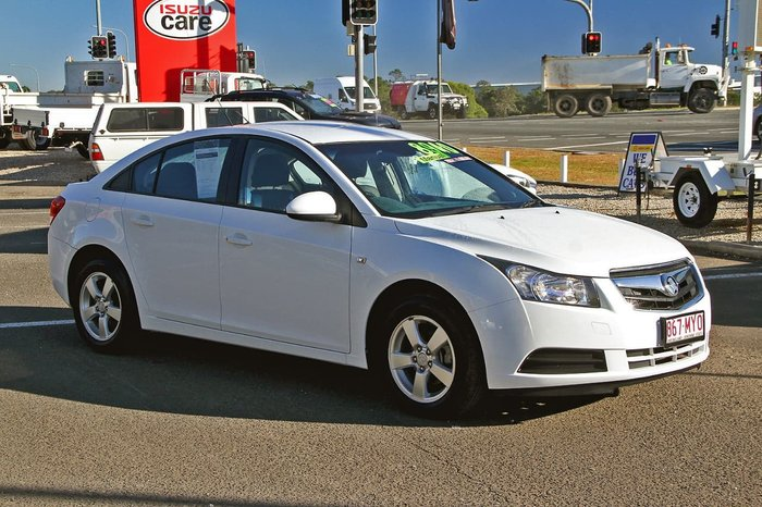 2010 Holden Cruze CD JG White
