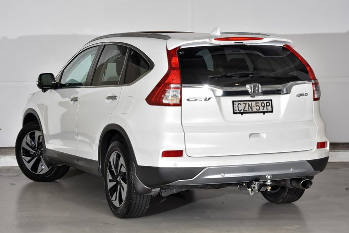 2015 Honda CR-V VTi-L RM Series II MY16 4X4 On Demand White