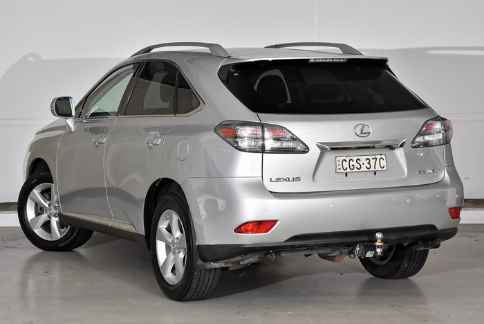 2012 Lexus RX350 Prestige GGL15R 4X4 On Demand Silver
