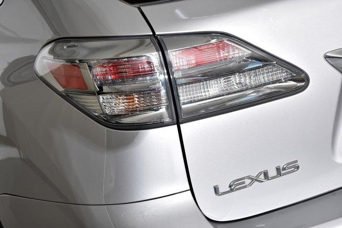 2012 Lexus RX350 Prestige GGL15R 4X4 On Demand Silver