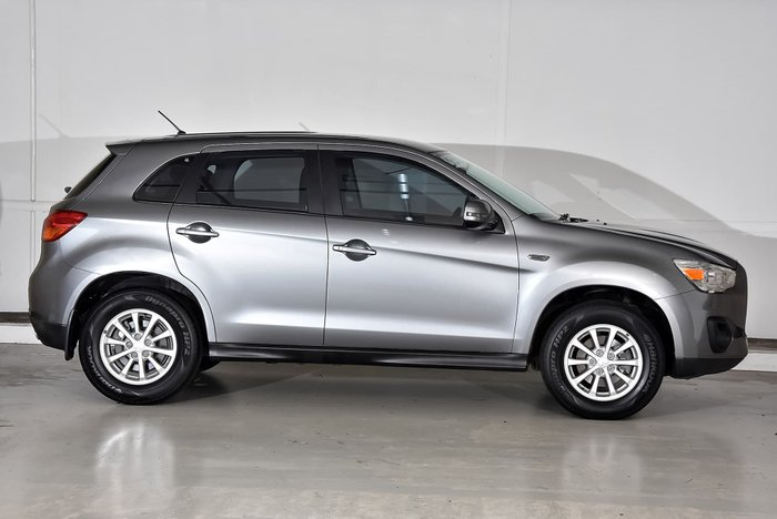 2013 Mitsubishi ASX XB MY13 Grey