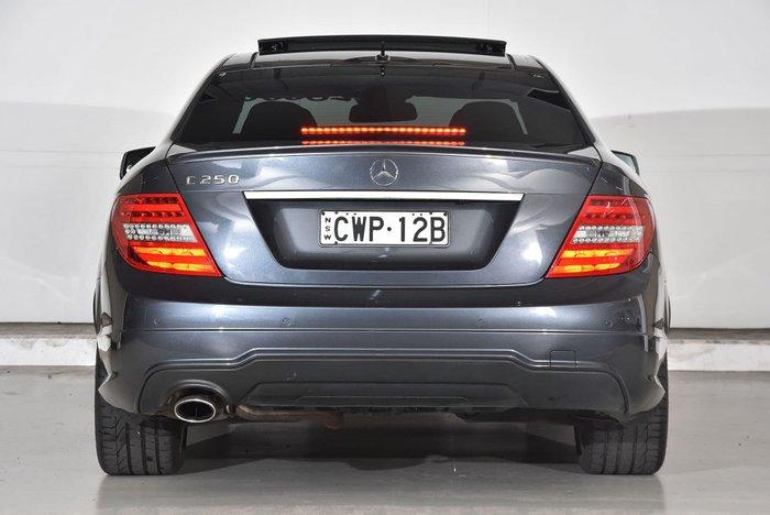 2014 Mercedes-Benz C-Class C250 Avantgarde C204 Silver