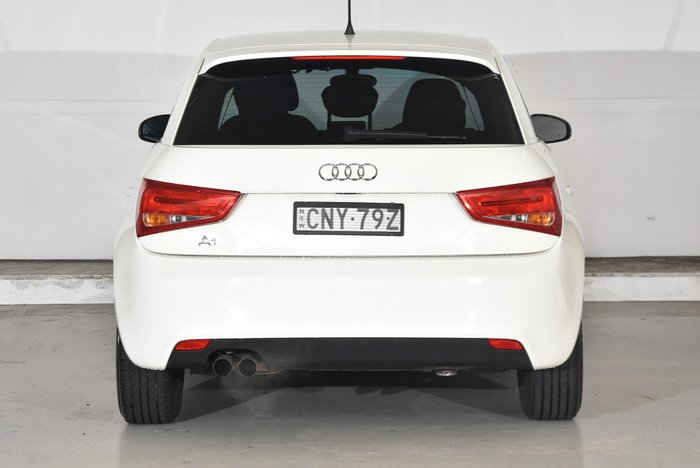 2012 Audi A1 Attraction 8X MY12 White
