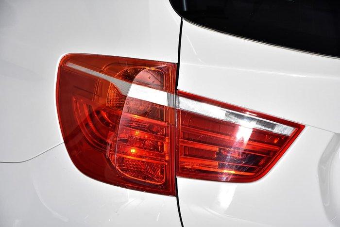 2012 BMW X3 xDrive20d F25 MY12.5 4X4 Constant Silver