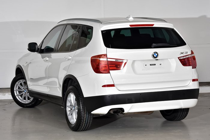 2012 BMW X3 xDrive20d F25 MY12.5 4X4 Constant Silver