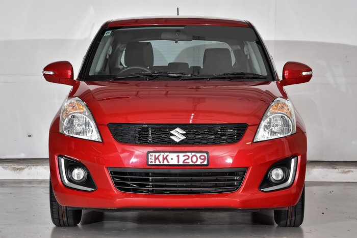 2014 Suzuki Swift GL Navigator FZ MY14 Red