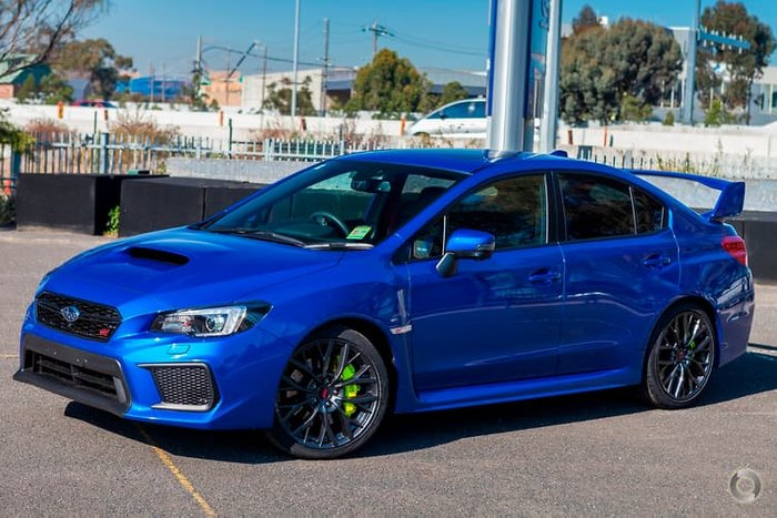 2017 Subaru WRX STI spec.R V1 MY18 Four Wheel Drive Blue