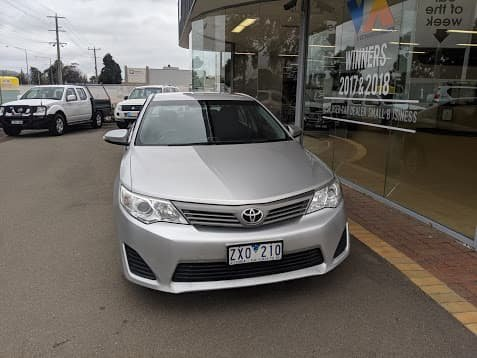 2013 Toyota Camry Altise ASV50R Silver